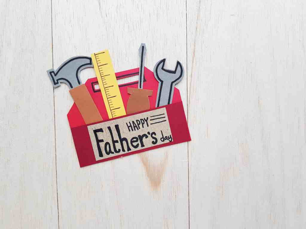 DIY Toolbox Card for Father's Day by onlypassionatecuriosity.com