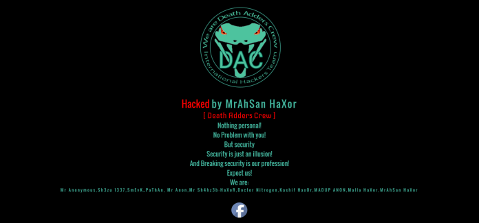 """Latvia Supreme Court Official Website Hacked: Pakistani Hacker Group """"Death Adder Crew"""" to Blame"""