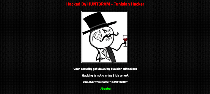 Helions Bumpstead Parish Council UK Official Website Hacked By HUNT3RXM