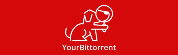 The official logo of YourBittorrent website.