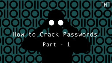 Photo of Hack Today : How to Crack Passwords – Part 1