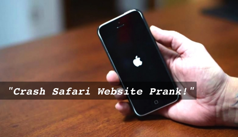 Crash Safari Website Prank, Forces Users to Reboot iPhones and iPad