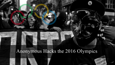 Photo of Anonymous Hacks the 2016 Olympics – Brazil Government and WADA Targeted