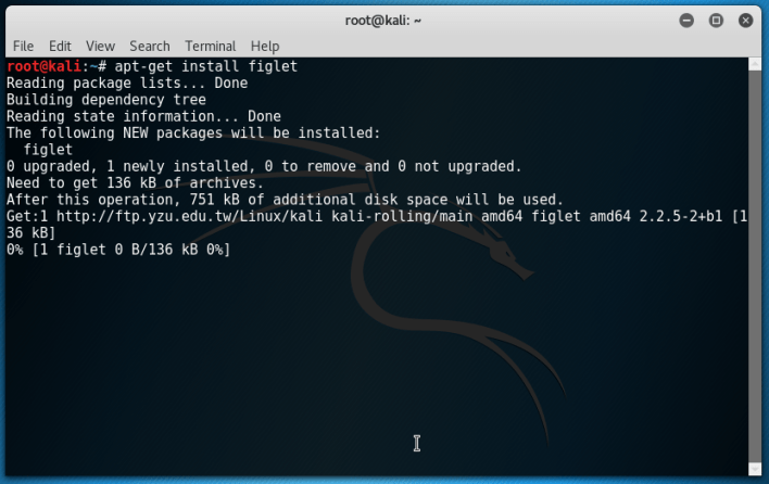 How To Set ASCII Text Art In Kali Linux Terminal Header