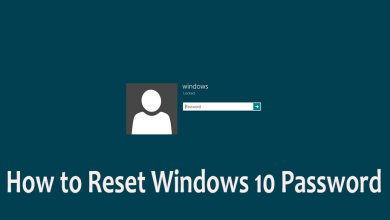 Photo of How to Reset Windows 10 Password without Using Third-Party Tools