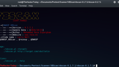Photo of OWASP VBScan – vBulletin Vulnerability Scanner