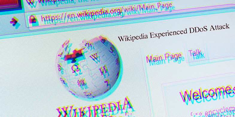 Wikipedia Experienced DDoS Attack