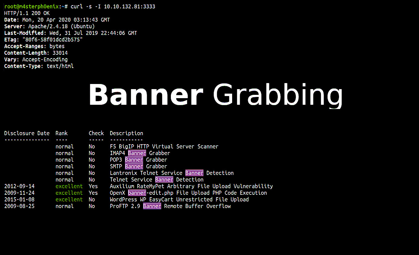 Best Ways To Banner Grabbing In Penetration Testing