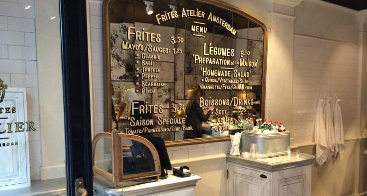 Frites Atelier Amsterdam | Amsterdams logo in Haagse Venestraat
