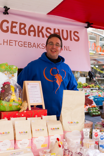 'Gebakshuis' Market Stall at Home-Made Market