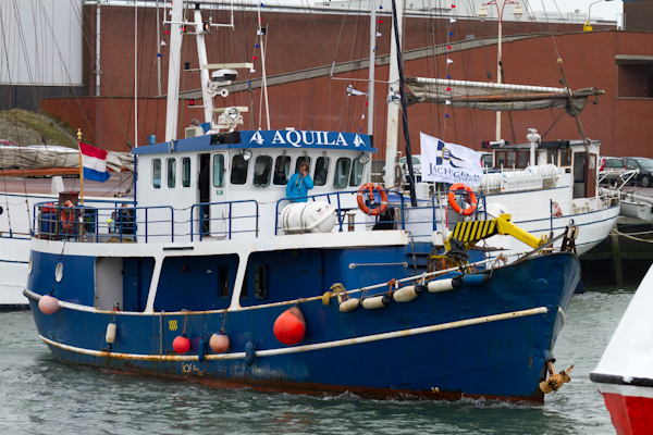 The 'Aquila' Boat - Opening of Water Sports Season