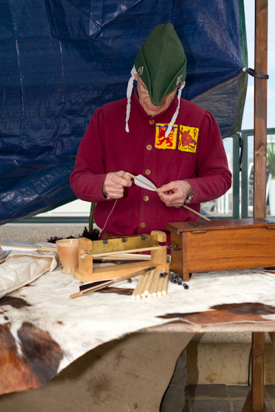 Medieval Arrow Maker - History Market