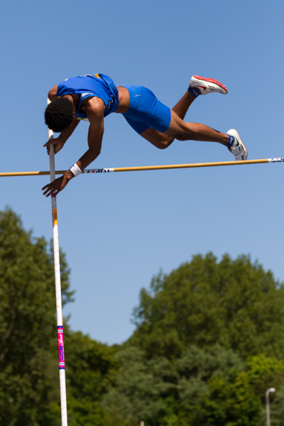 Athlete - Mens Pole Vault (Polsstokhoogspringen). Nederlands Kampioenschap Teams Senioren 2013