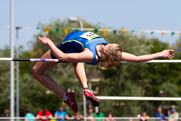 Athlete - Womens High Jump (Hoogspringen). Nederlands Kampioenschap Teams Senioren 2013