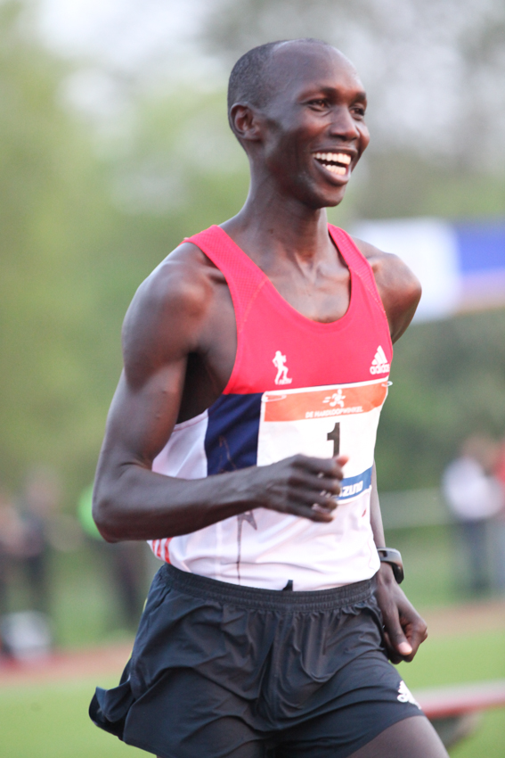 Marathon World Record Holder Wilson Kipsang (1) - AV Sparta 5K Charity Race