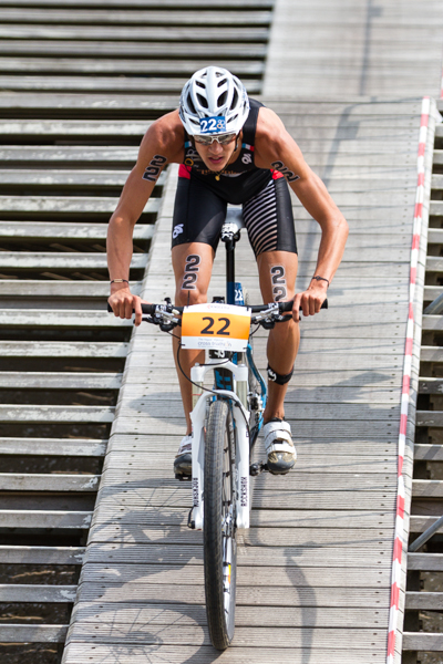 Brice Daubord (FR) - 3rd - ITU World Championships Cross Triathlon 2013