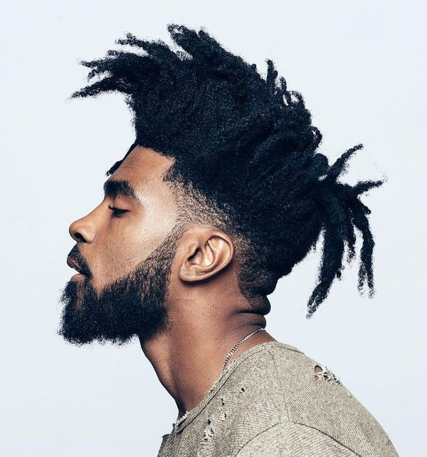 Young Black Men Hairstyles with Twists 6