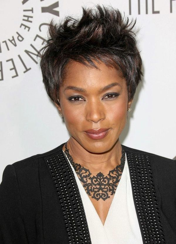 Messy short hairstyles for black women 1