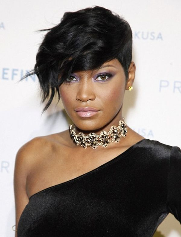 Stylish ideas of short hair for black women 3