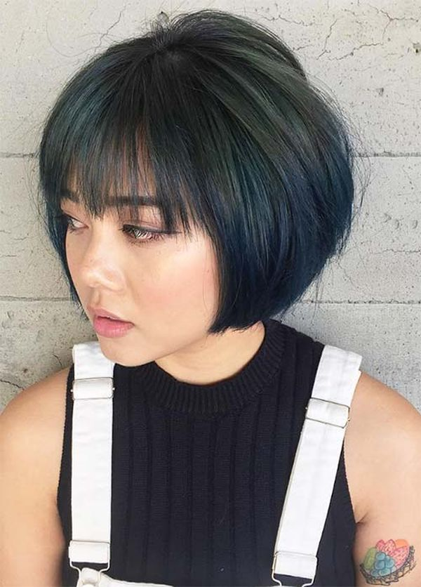 Wispy Bangs Short Hair The New Trend for Girls 3