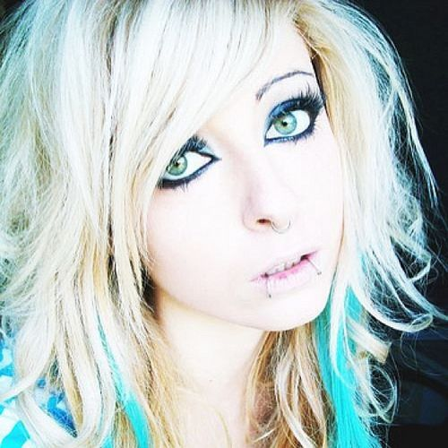 scene girl hair styles hairstyles for top 10 ideas 7748 | 1 2 Blond emo hairstyles for girls