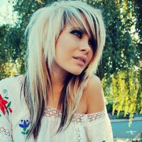 scene girl hair styles hairstyles for top 10 ideas 7748 | 1 3 Blond emo hairstyles for girls with dark tips