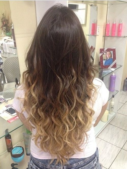ombre styles for brown hair 40 stunning ombre hairstyle ideas for hair 7108