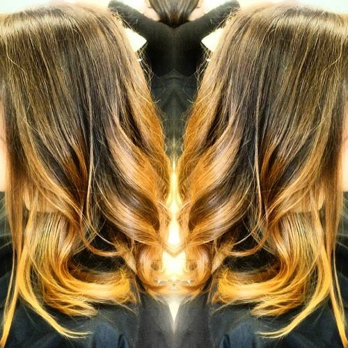 Remarkable long layered bob hairstyle