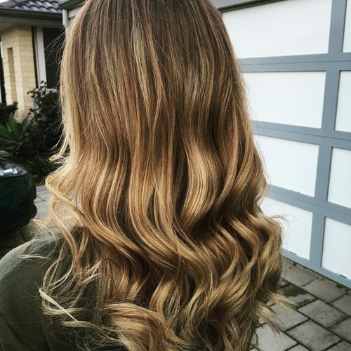 Light Brown Hair Color With Blonde Highlights 1