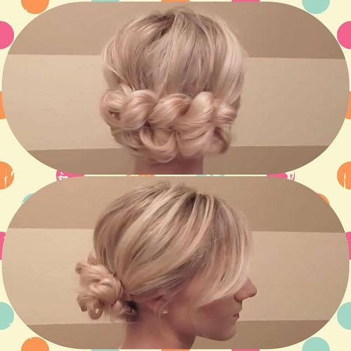 Cute dutch braid hairstyle