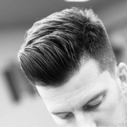 Short Quiff Hairstyle Ideas 1