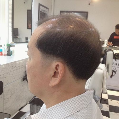 Medium Length Cut for Seniors