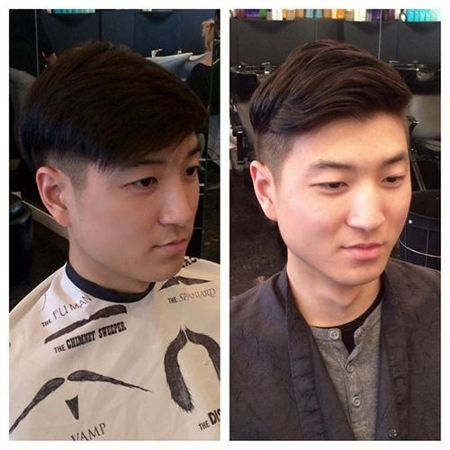 Natural Texture Perm for Asian Men