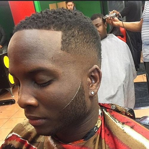 Most Popular Buzz Cut Fade Styles for Black Men 3