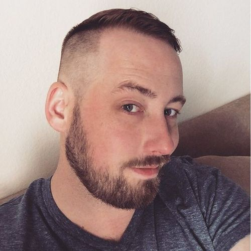 Side Swept High And Tight Style