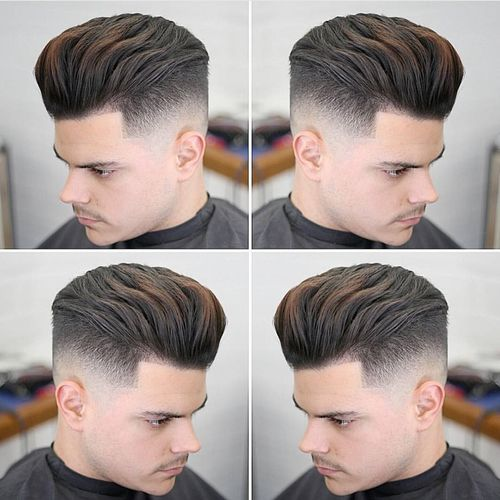 Stylish Textured Quiff Haircut 1