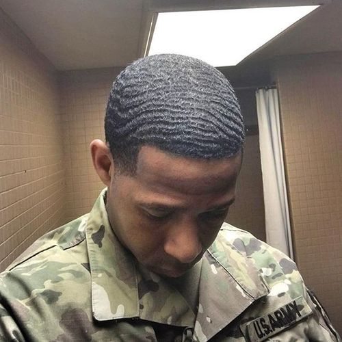 Awesome Soldier Haircut Styles for Black Men 1