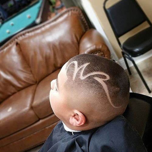Great Boy Buzz Cut Hairstyles With Line 3