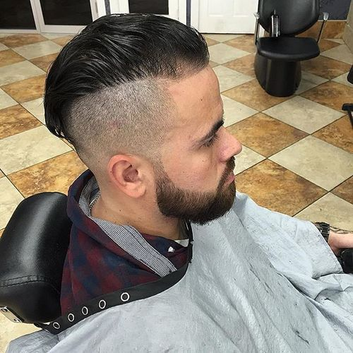 Another Skin Fade Under Cut