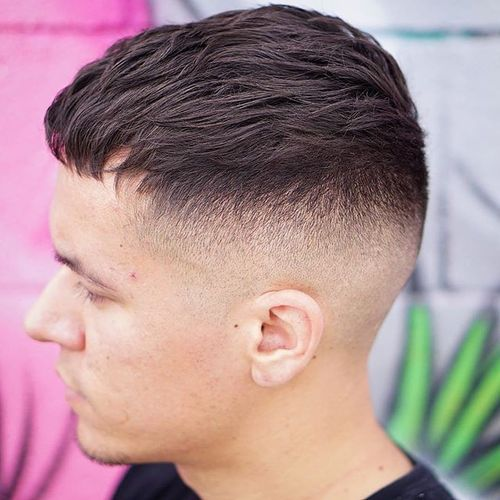 Modern Caesar with Shaved Sides