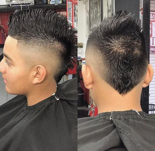 Taper Fade Faux Hawk