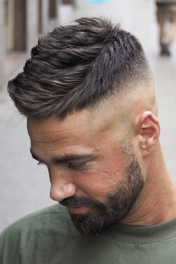 American Crew Cut with Beard 3