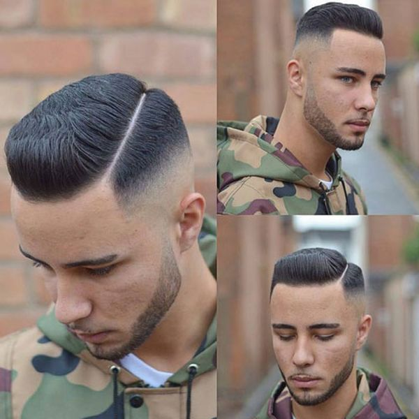 Crew Cut Haircuts with Side Part 2