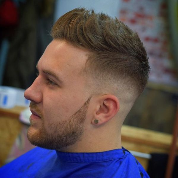 Inspiring Long Crew Cut Ideas for Men 2