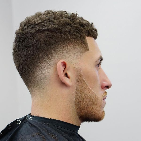 Messy Crew Cut Hairstyles 1