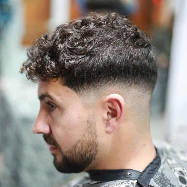 Messy Crew Cut Hairstyles 4