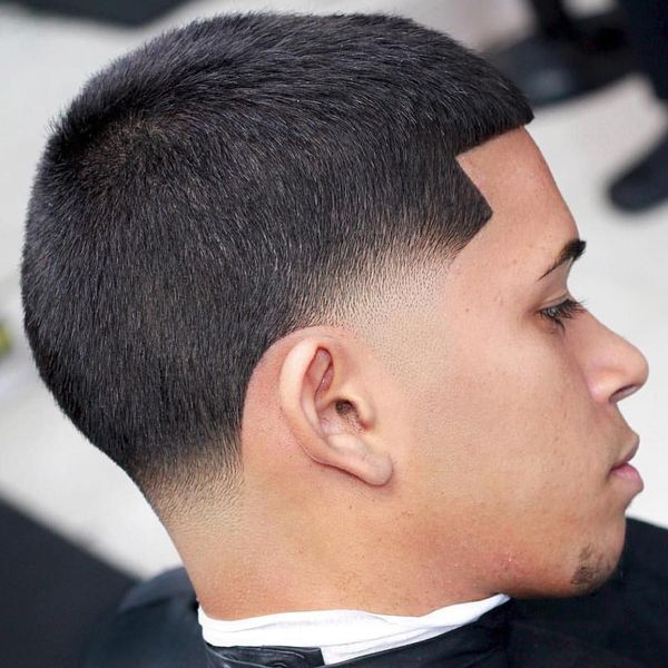 Trending Tapered Crew Cut Haircut 2