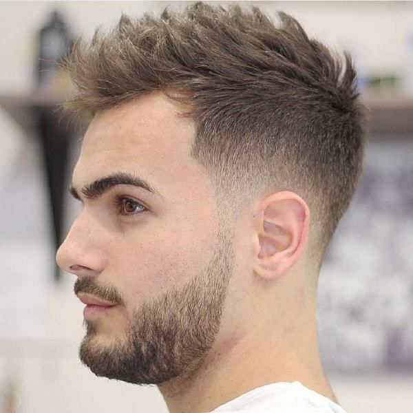 Trending Tapered Crew Cut Haircut 4