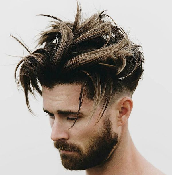 Sexy Long Messy Hair Styles for a Guy 1