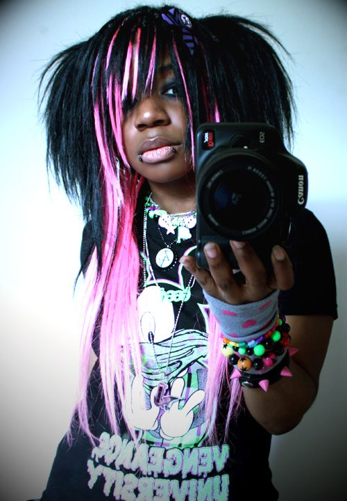 african american emo hairstyles